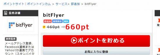 bitFlyerの口コミ・評判|ポイントサイトのポイントインカム