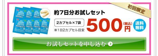 「ビヒダスBB536」500円お試しパック