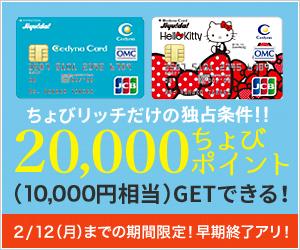 セディナカードJiyu!da!発行で1万円